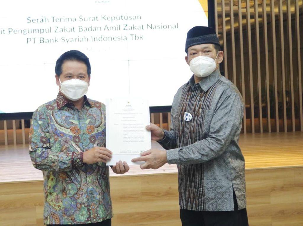 Bank Syariah Indonesia Salurkan Zakat Lebih dari Rp 72 M ke Baznas