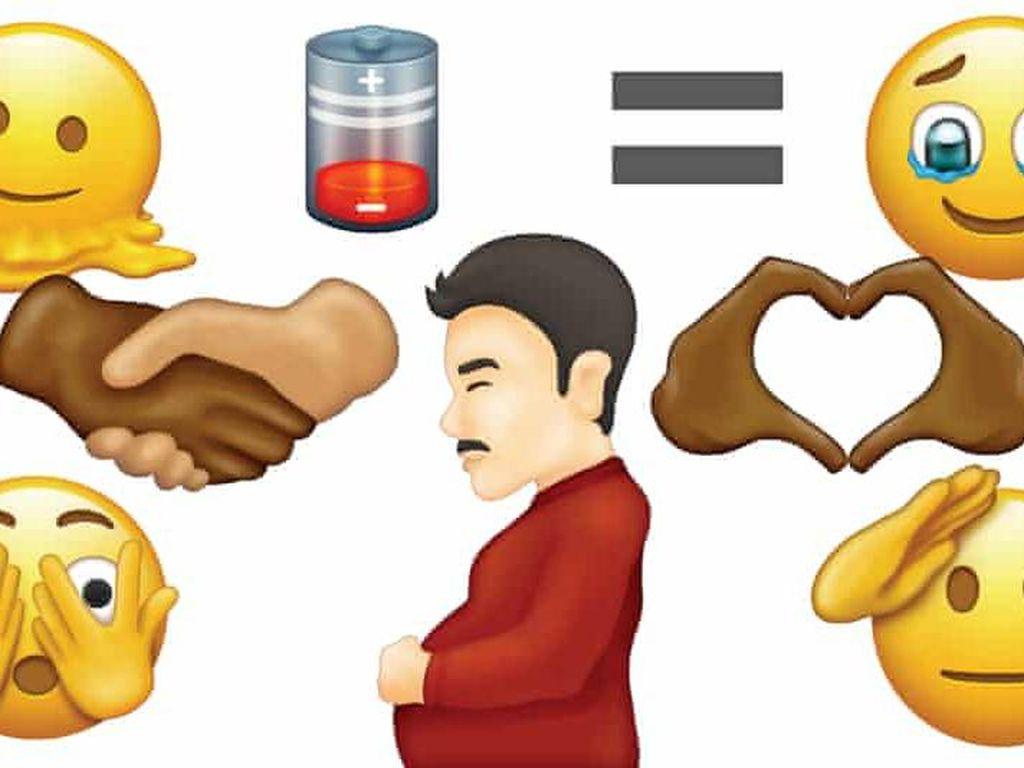 Unicode Ungkap Emoji Baru, dari Pria Hamil hingga Jabat Tangan Multiras