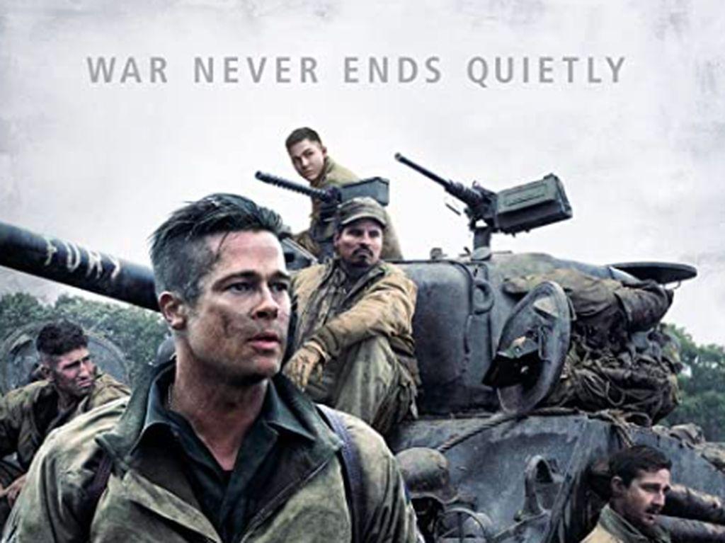 Sinopsis Fury di Bioskop Trans TV, Aksi Brad Pitt Pimpin Perang Lawan Nazi