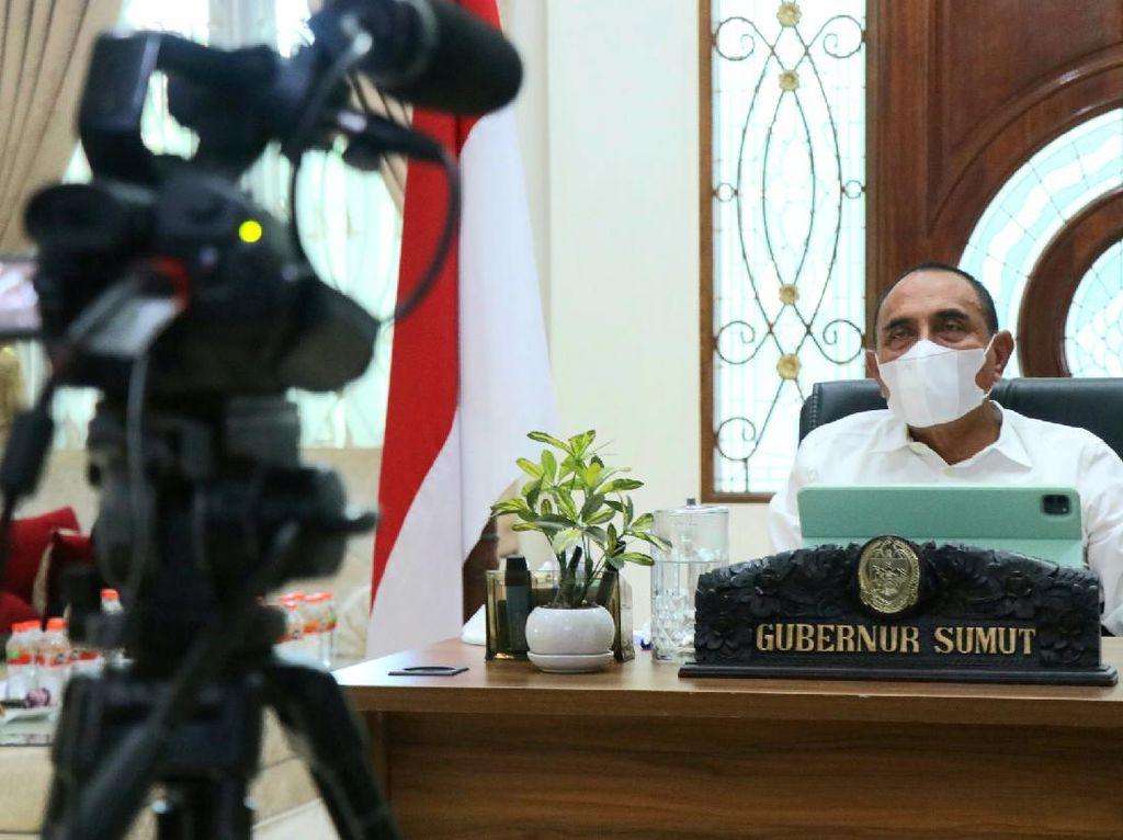 Kadis Perizinan Tersangka Korupsi, Gubsu Serahkan Proses Hukum ke Jaksa