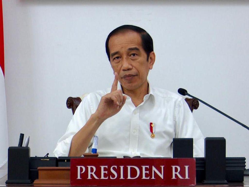 Sorotan Jokowi soal Penyekatan Sebab Kasus Corona Didera Lonjakan