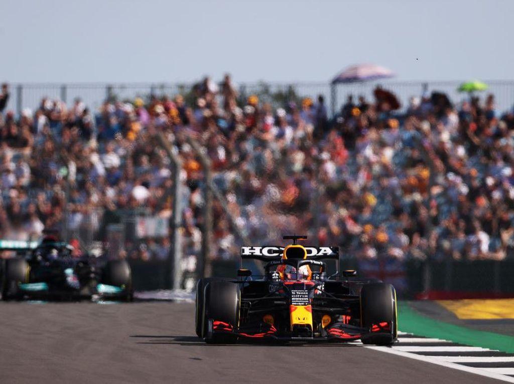 Hasil Sprint Qualifying F1 GP Inggris 2021: Verstappen Finis Terdepan