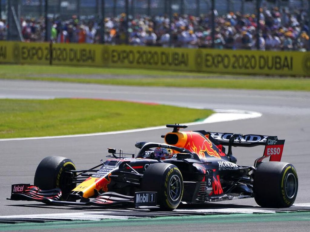 Hasil FP2 F1 GP Inggris 2021: Verstappen Ungguli Leclerc