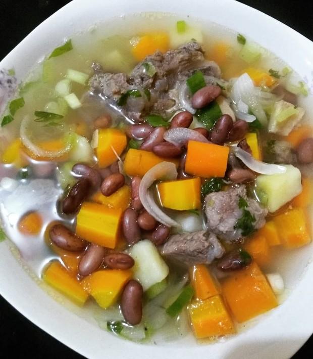 Resep sup daging kacang merah yang nikmat dan menggugah selera/ Foto: instagram.com/_maharanii23