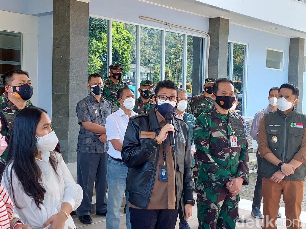 Sandiaga Uno: Vaksinasi Pelaku Parekraf Indonesia Baru 5 Persen