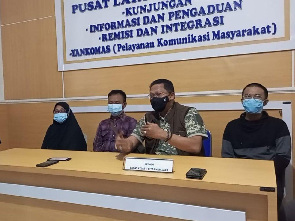 Pemilik Kedai Kopi yang Langgar Perda PPKM Bebas dari Lapas Tasikmalaya