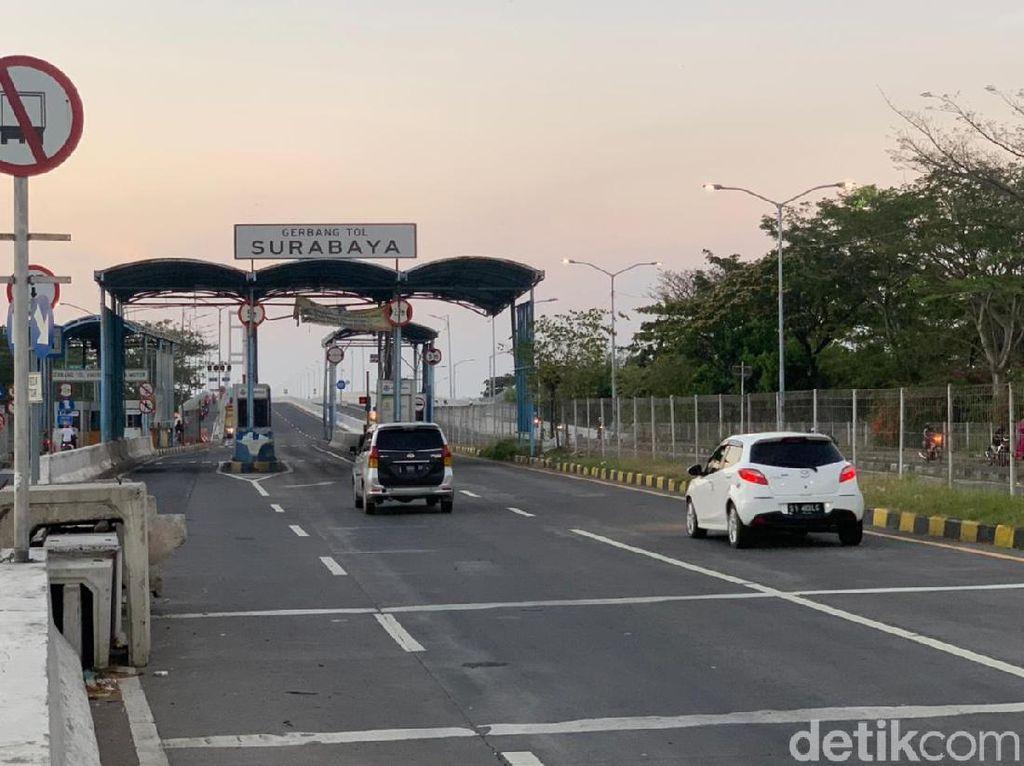 H-2 Idul Adha, Arus Kendaraan di Suramadu Terpantau Normal