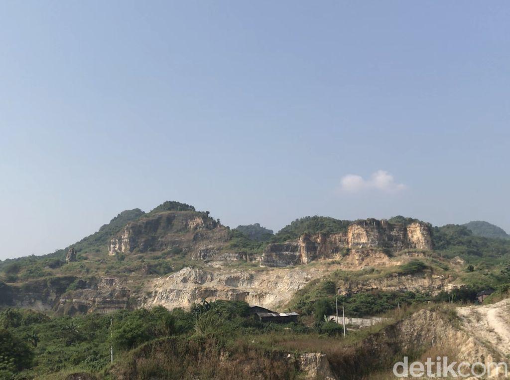Foto: Gunung Kapur Klapanunggal, Wisata Bogor yang Tersembunyi