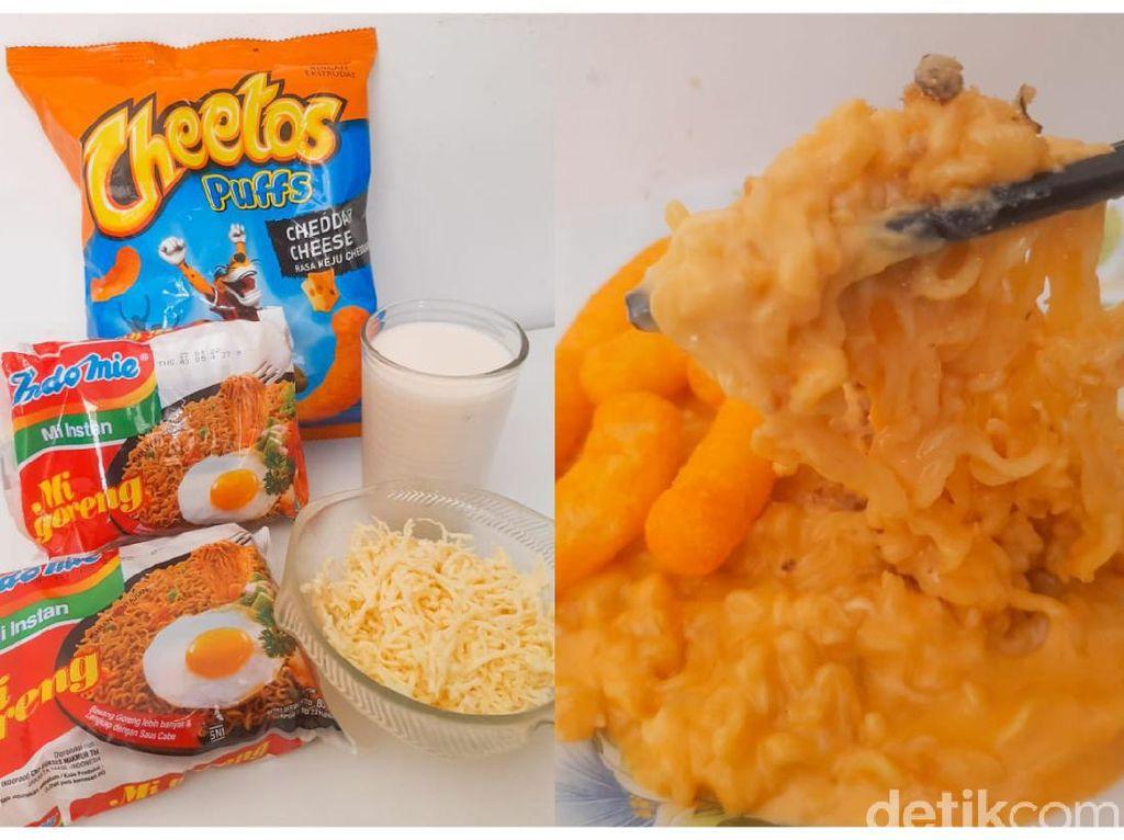 Viral Resep Mie Kuah Cheetos Keju Super Creamy, Enak Nggak Ya?