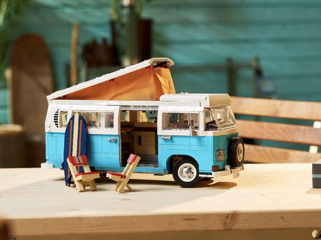 Kolektor Merapat! Lego Siapkan Volkswagen T2 Camper Van Rp 2.6 Jutaan