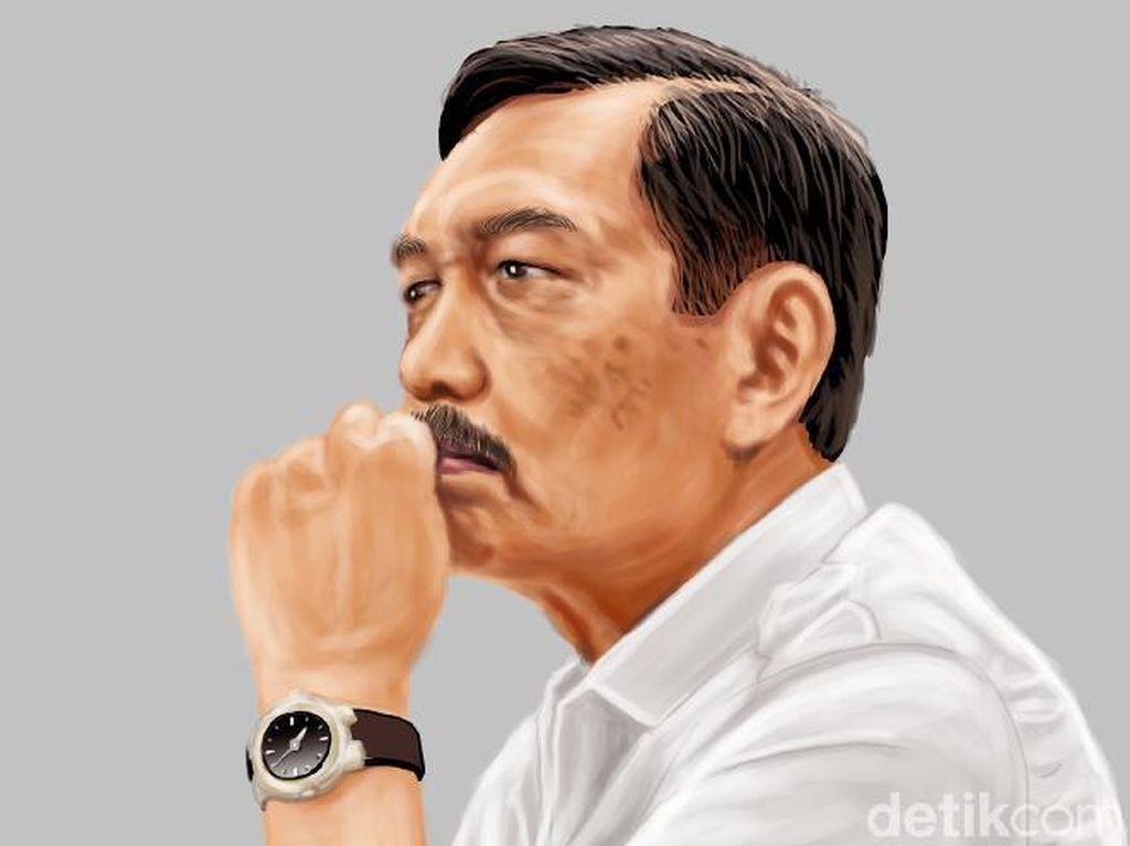 Jokowi Teken Keppres, Luhut Jadi Ketua Tim Gerakan Bangga Buatan Indonesia
