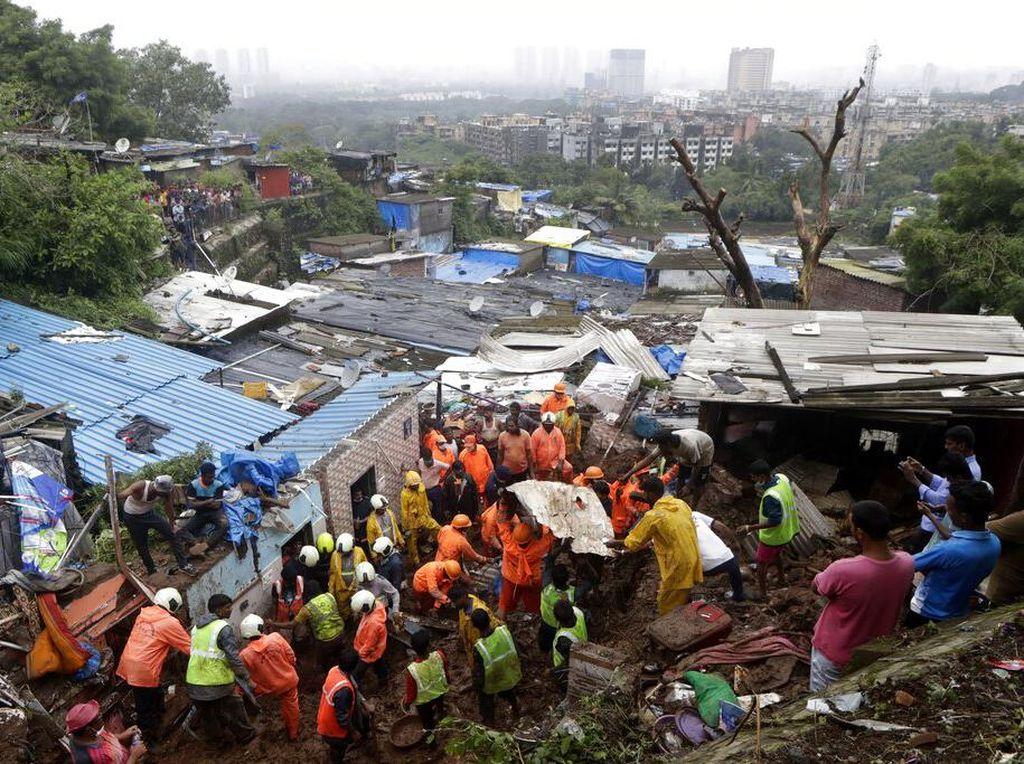 Bertambah Lagi! Korban Tewas Akibat Tanah Longsor di India Jadi 115
