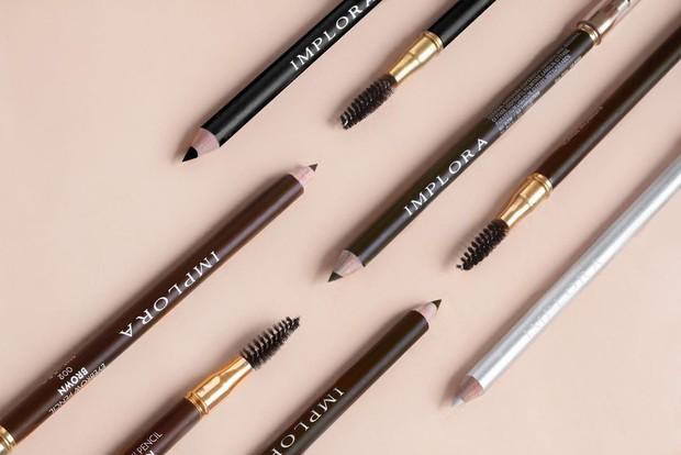 Pensil alis Implora dengan kualitas bagusyang dibandrol dengan harga Rp. 7 ribuan/Instagram/Imploracosmetics