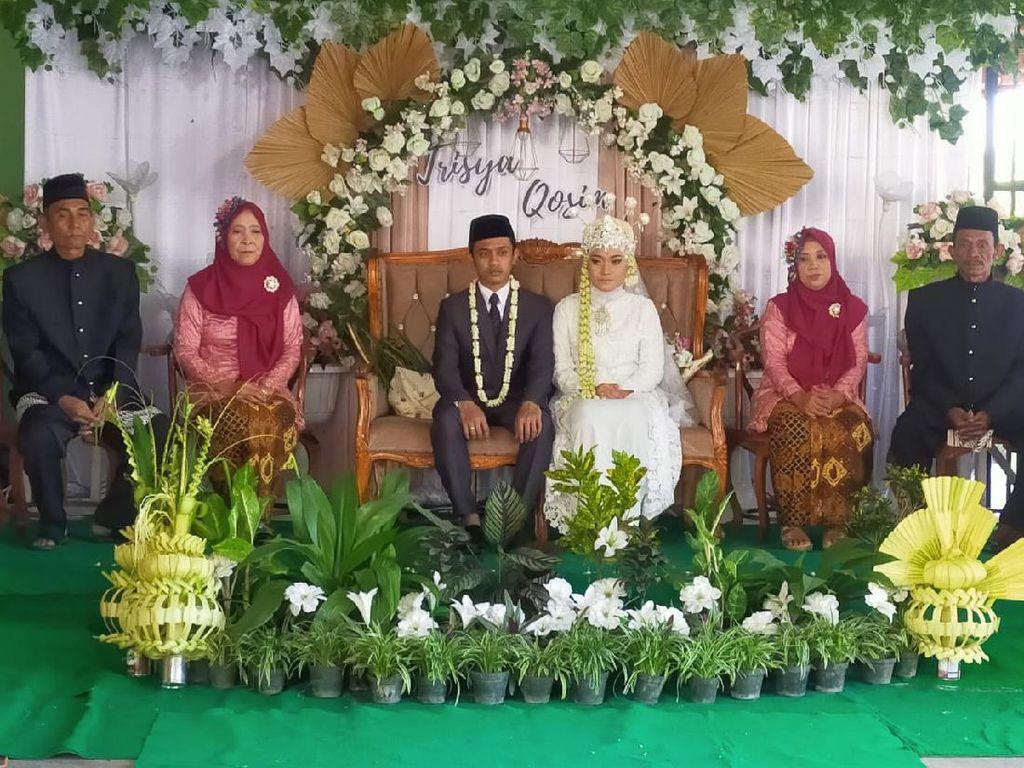 Pernikahan Ini Gelar Ritual Adat Jawa Meski Dibatasi PPKM Darurat