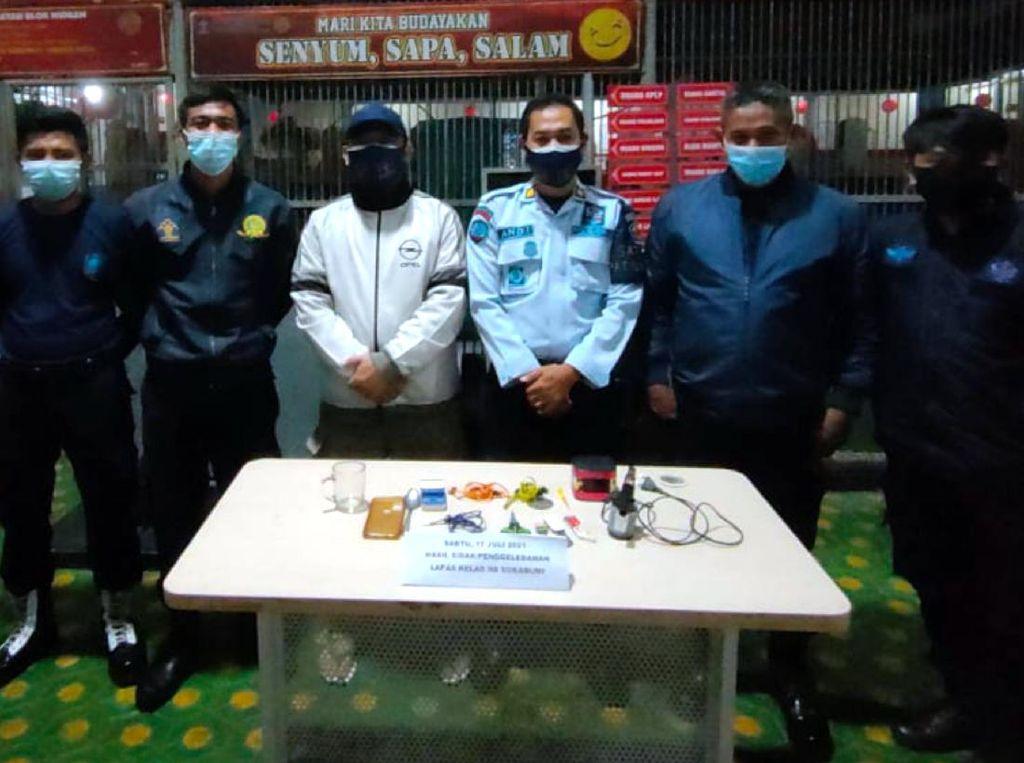 Sidak ke Ruang Tahanan, Petugas Lapas Nyomplong Sukabumi Sita Cutter-Obeng