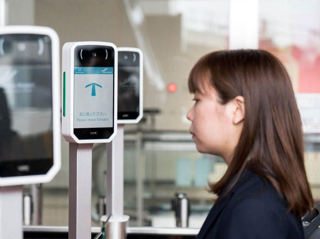 Bandara Narita Uji Coba Teknologi Pengenalan Wajah