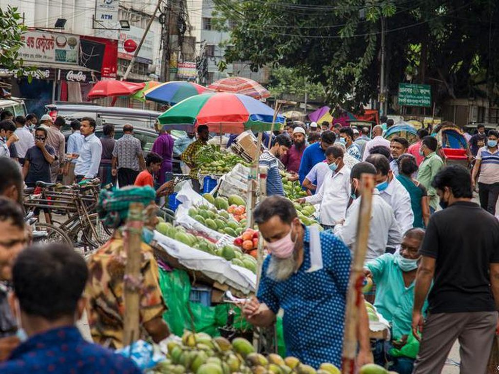 Bangladesh Cabut Lockdown Demi Sambut Idul Adha