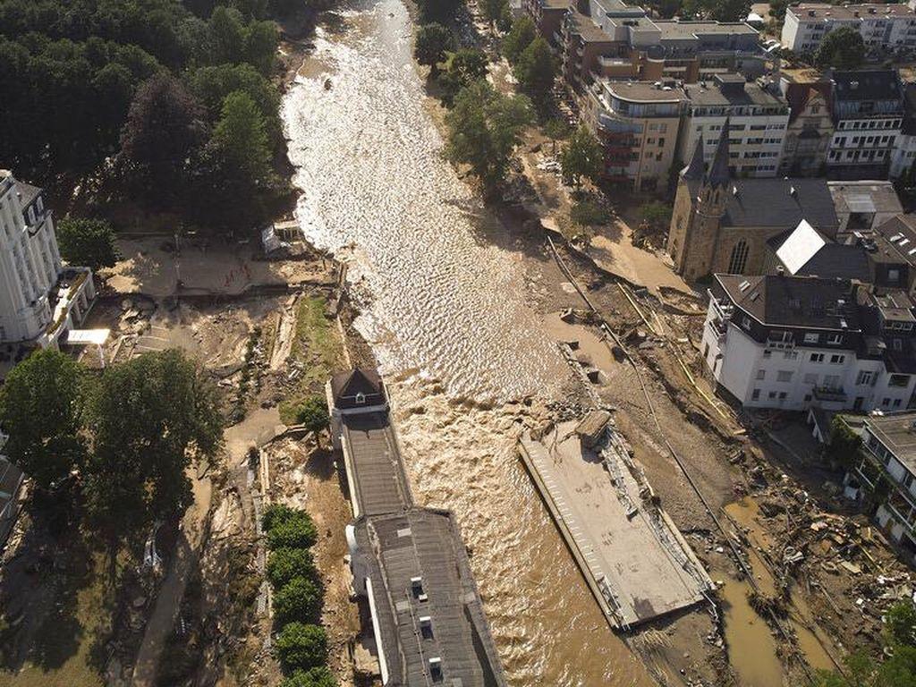 Update Korban Banjir di Jerman: 180 Orang Tewas, 150 Hilang