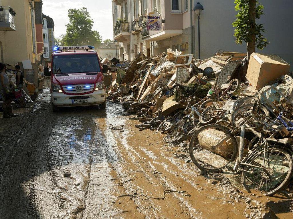 Banjir Jerman Tewaskan 189 Orang, Kepala Distrik Diselidiki