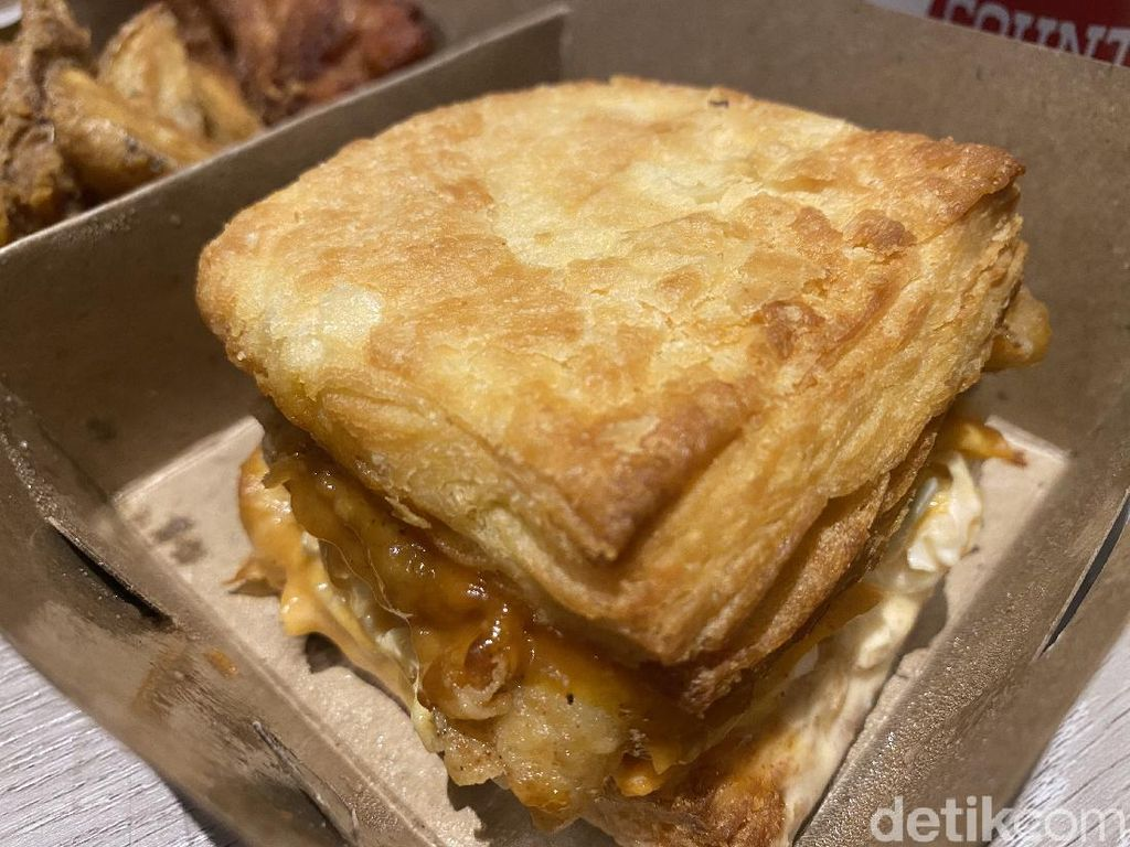 Cicip Chicken Biscuit ala Southern Style Kekinian dengan Mushroom Soup