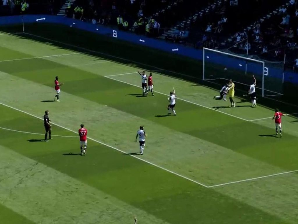 Video Cuplikan Laga Derby County vs Manchester United