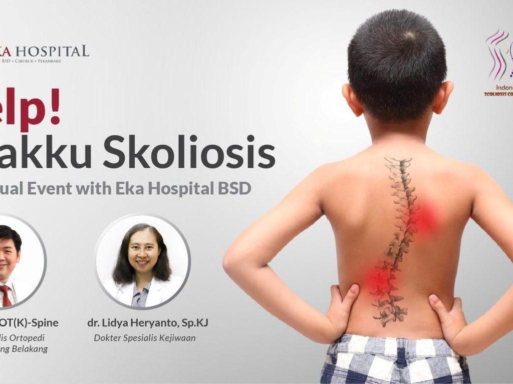 Eka Hospital Gandeng Indonesia Scoliosis Community Bantu Atasi Skoliosis