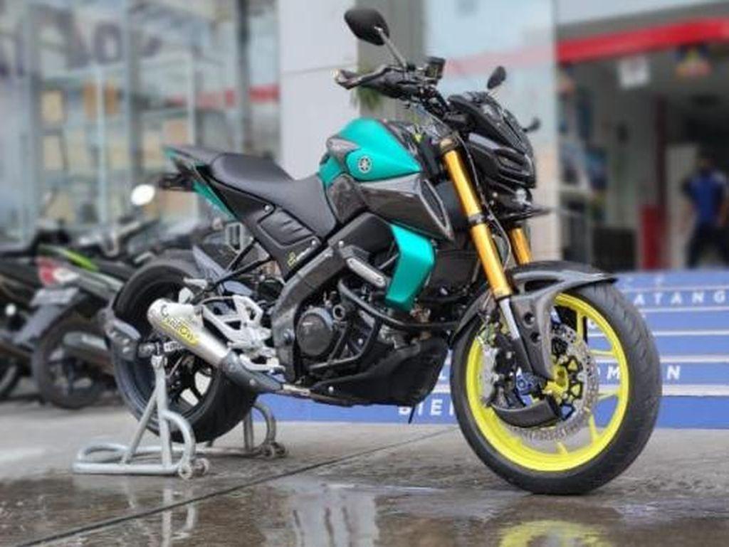 Modifikasi Yamaha MT-15 Gaya Hyper Naked, Habis Biaya Rp 30 Jutaan