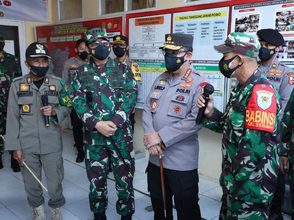 Panglima TNI, Kapolri, Kepala BNPB Sidak Gudang Obat di Banten