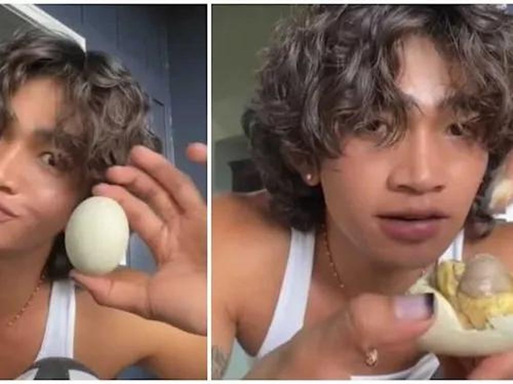 Promosikan Balut Filipina,Selebgram Bretman RockTuai Pro Kontra