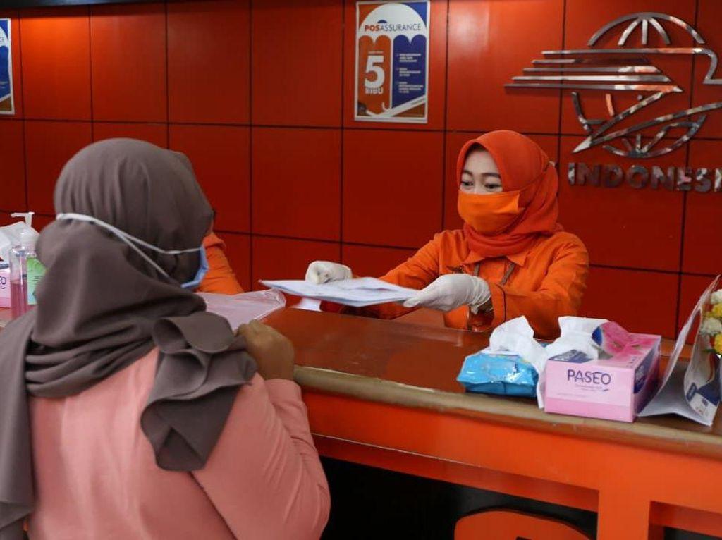 Salurkan Bansos Tunai, Pos Indonesia Kerahkan 21 Ribu Petugas