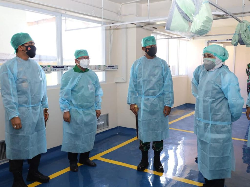 RSU dr Soetomo Tambah 200 Bed ICU dan HCU untuk Pasien COVID-19