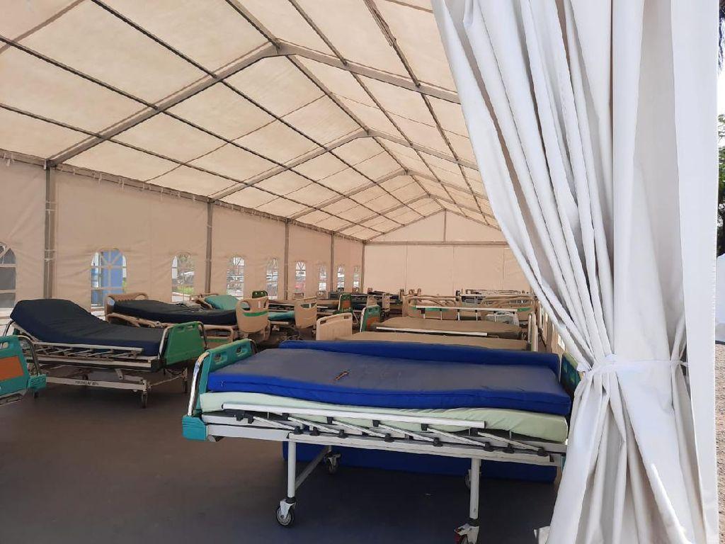 BPBD Jabar Dirikan Tenda Serbaguna di RS Rujukan COVID-19