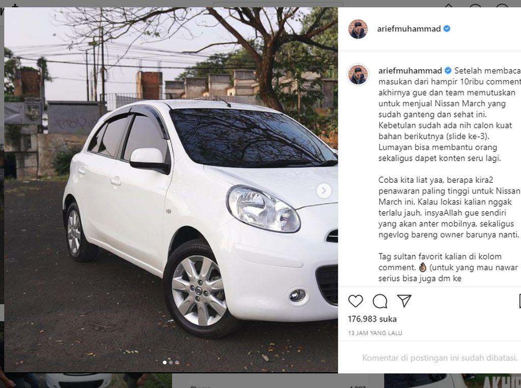 Sempat Viral, Segini Harga Nissan March Bekas