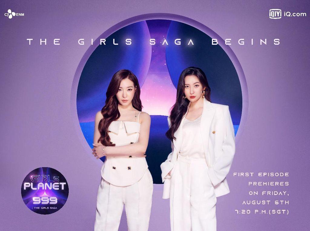 Girls Planet 999 Segera Tayang, Gaet Sunmi dan Tiffany SNSD sebagai Mentor