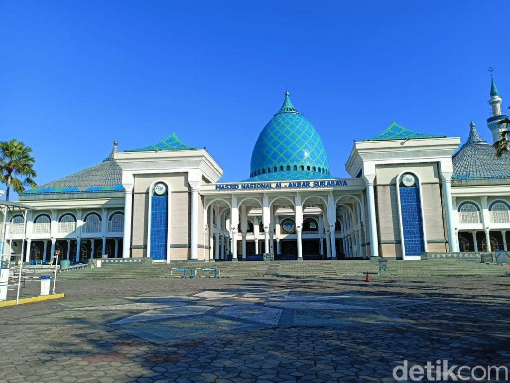 Salat Idul Adha di Masjid Al Akbar Surabaya Hanya Diikuti 75 Orang Internal