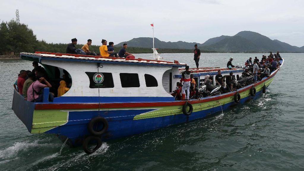 Mudik Idul Adha Warga Pulau Terluar