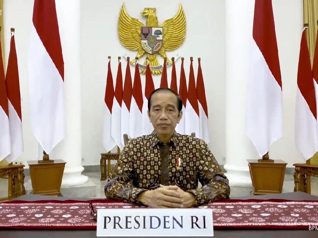 Hasil PPKM 3-20 Juli, Jokowi: Alhamdulillah BOR dan Kasus COVID Turun