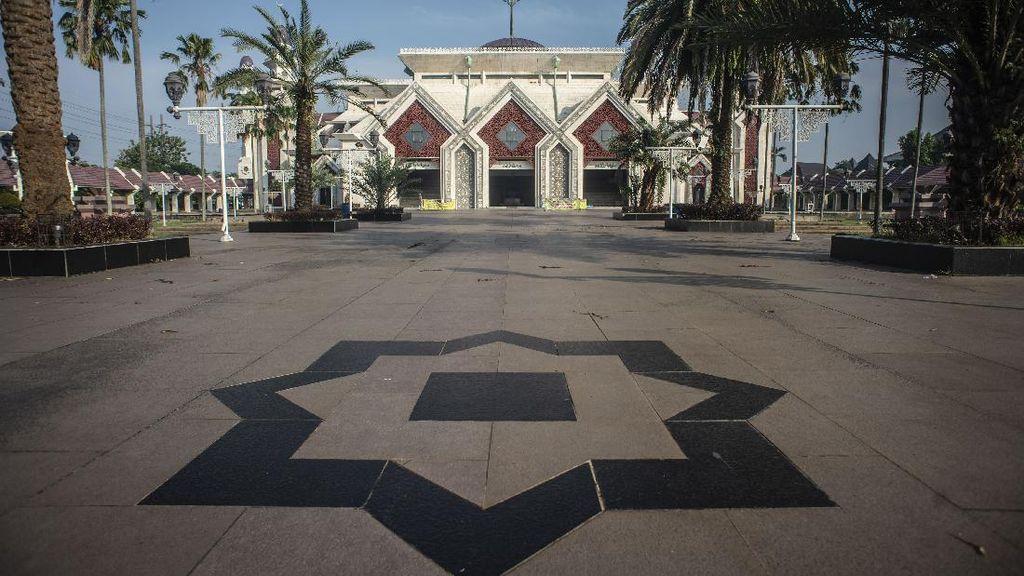Sepinya Masjid di Ibu Kota Saat Tiadakan Salat Idul Adha