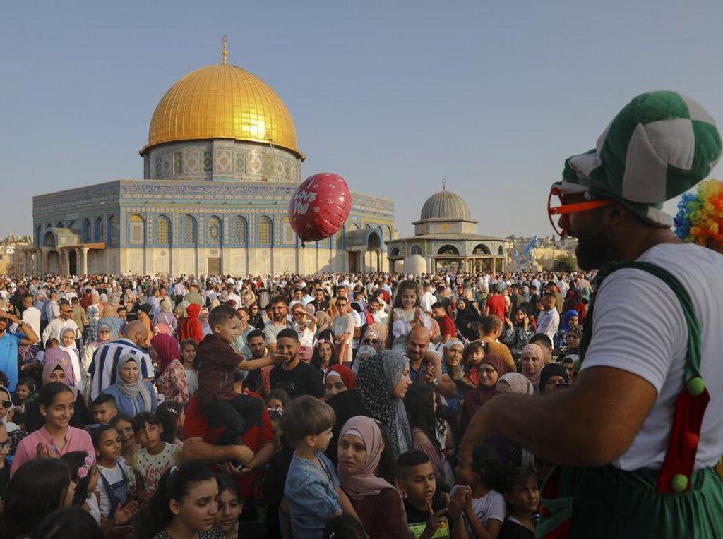 Semarak Hari Raya Idul Adha di Palestina
