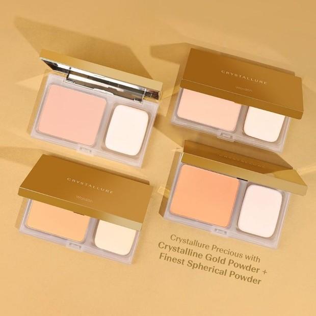 Crystallure Precious Luminizing Silk Powder Foundation