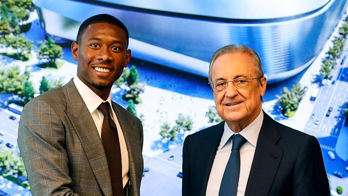 David Alaba diperkenalkan secara resmi oleh Real Madrid