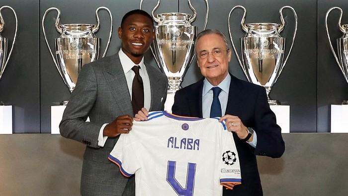 David Alaba pakai nomor 4 di Real Madrid