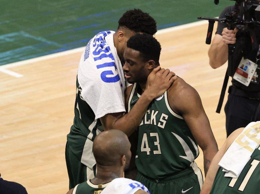 Lengkap Sudah, Antetokounmpo Bersaudara Punya Cincin Juara NBA