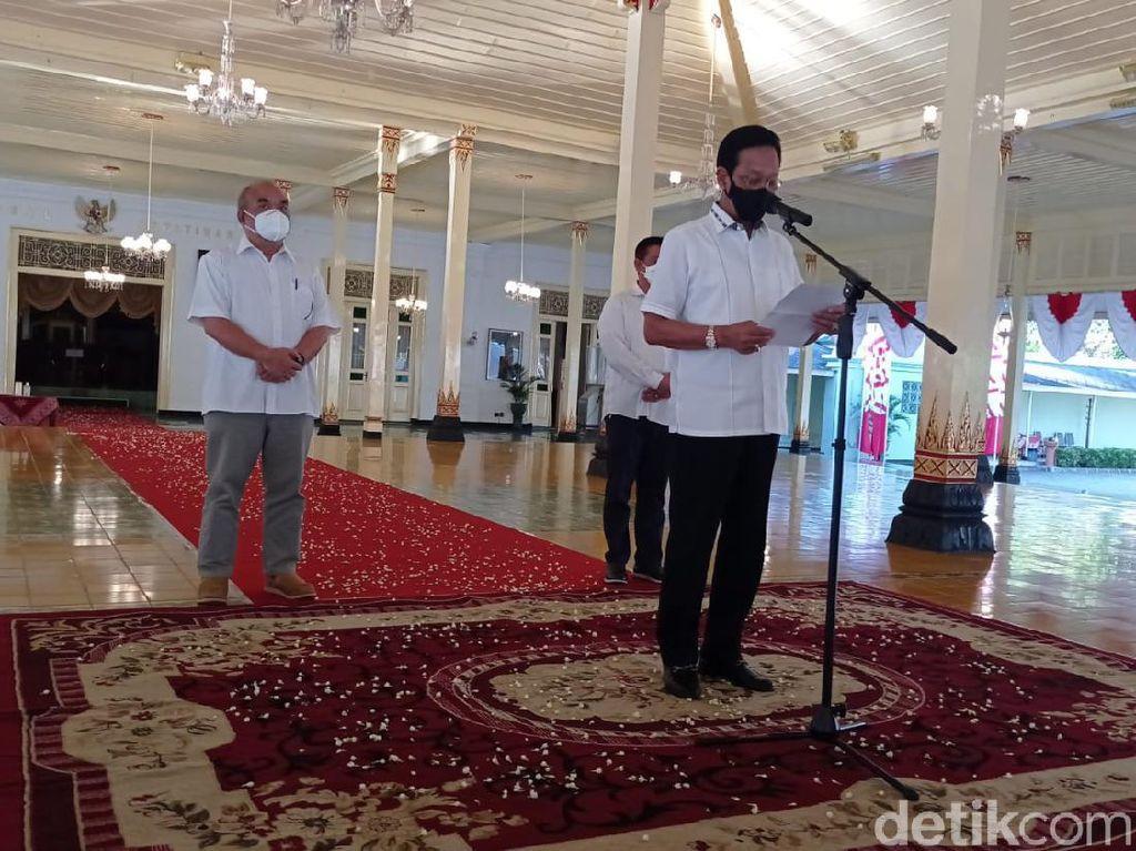 Sultan Yogya Siapkan Bansos PPKM: Refocusing APBD-Danais