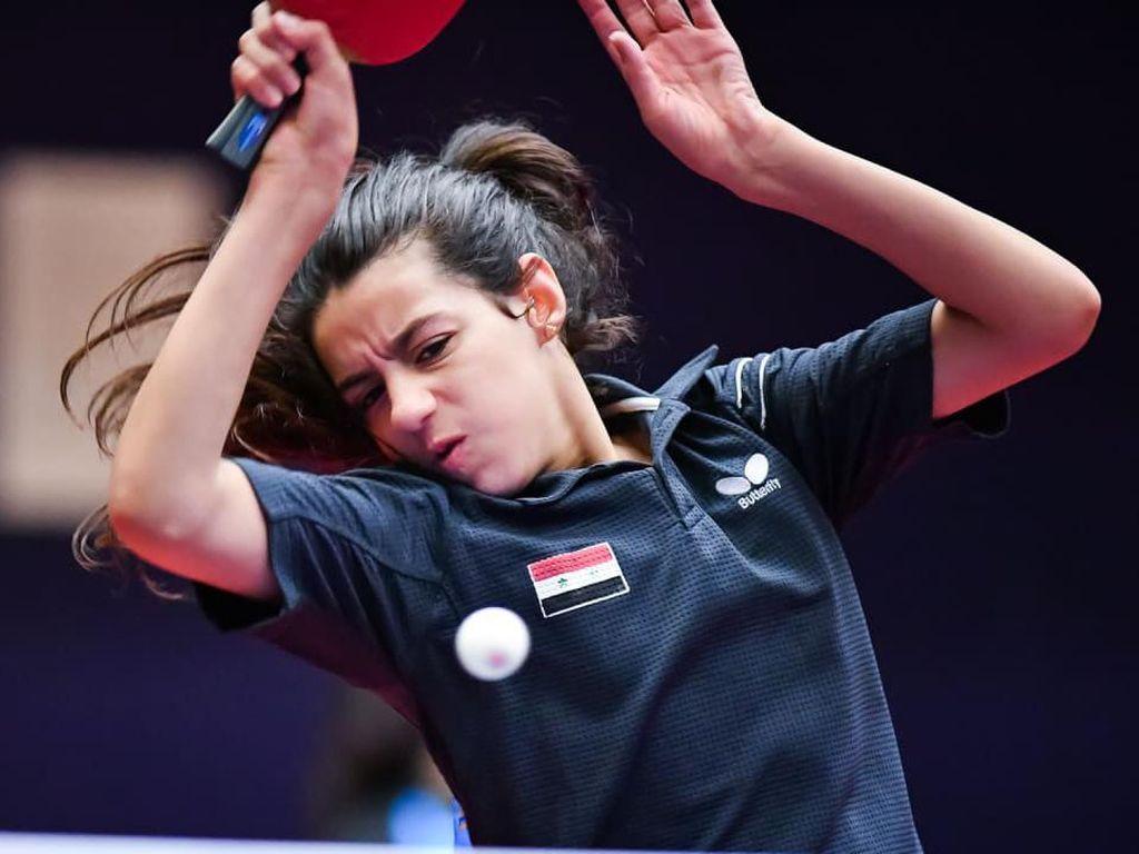Hend Zaza, Atlet Termuda di Olimpiade Tokyo 2020