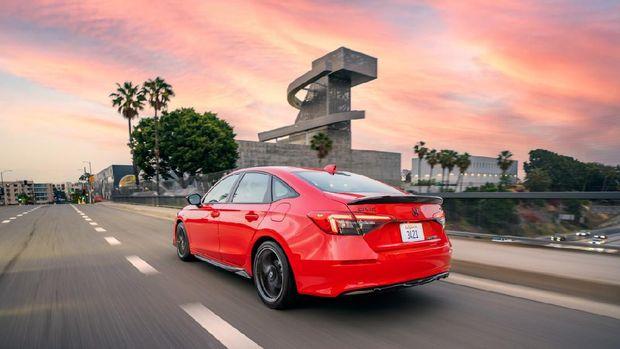 Honda Civic generasi ke-11 di Amerika Serikat.