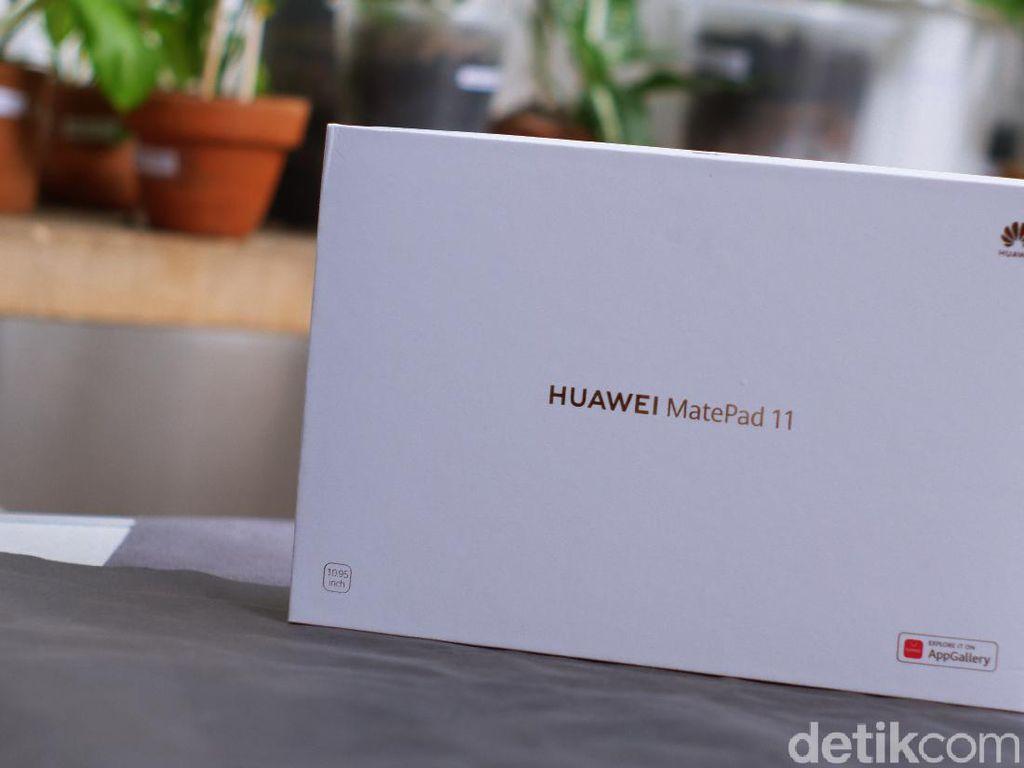 Unboxing Huawei MatePad 11, Menggoda dengan HarmonyOS 2.0