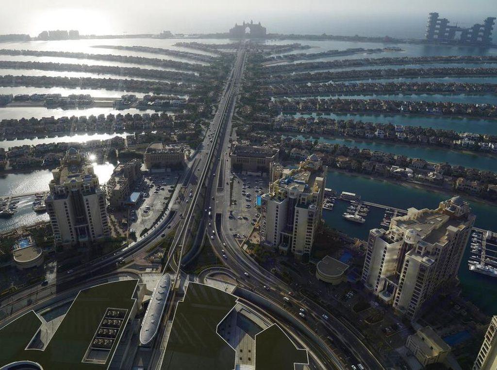 Indahnya Kepulauan Ajaib Buatan Manusia Palm Jumeirah Dubai