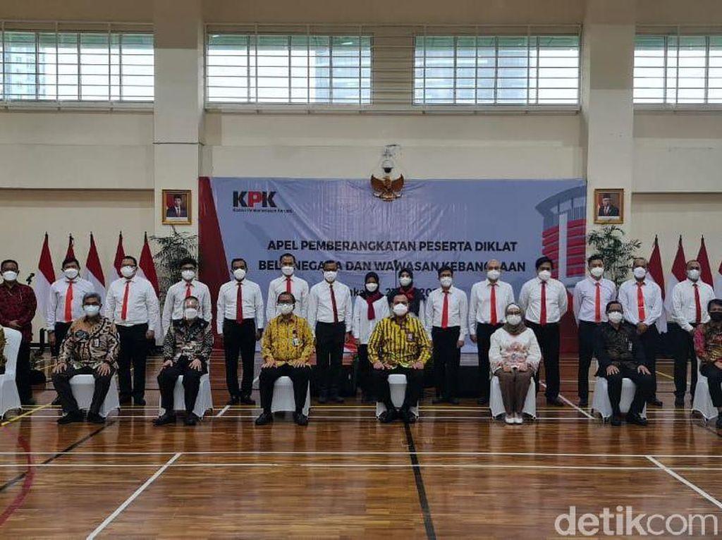 Ketua KPK Lepas 18 Pegawai Tak Lolos TWK Ikuti Latihan Bela Negara