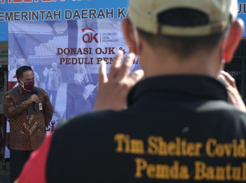 OJK Bantu Penanggulangan COVID di Yogyakarta